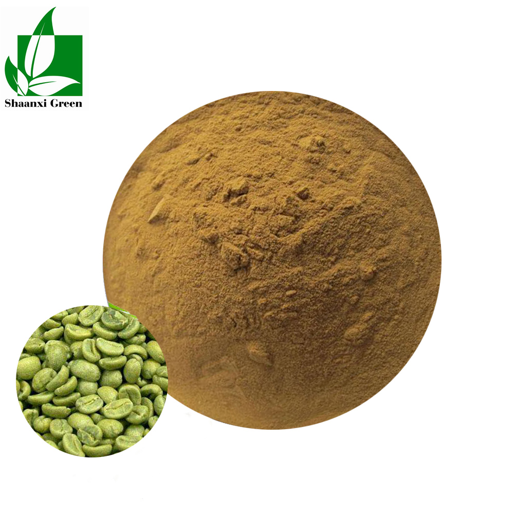 Factory Supplier Green Coffee Bean Extract For Weight Loss Chlorogenic acid 50%