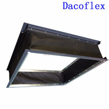DACO Custom HVAC System Polyester Vinyl Silicone Canvas Neoprene Flexible Air Duct Connector