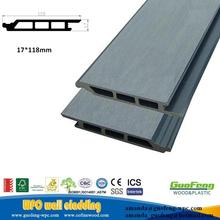 external guofeng Factory Price plastic Wood composite Exterior Outdoor WPC Wall covering