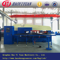 Closed type 32 working stations CNC oil punch press/machine