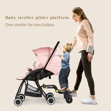 Plastic Buggy Board For Stroller Glider Platform for two babies and Fashionable buddy board
