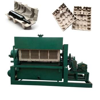 efficient machine for paper pulp chichken egg tray making