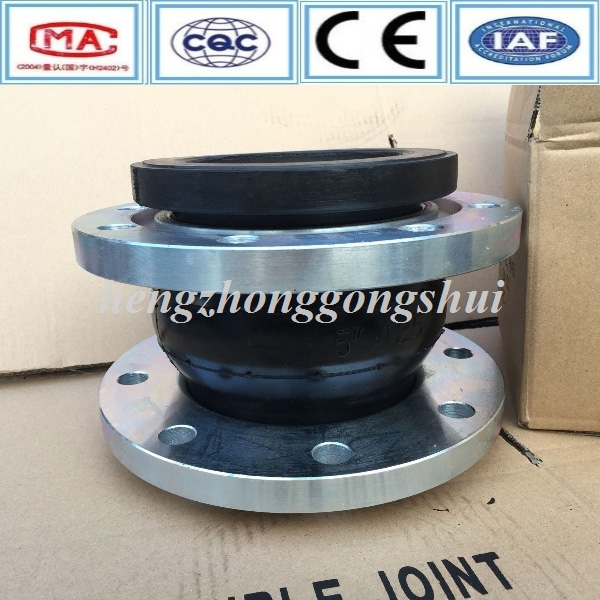 AISI304/316/321 floating flange joint expansion rubber bellow flange