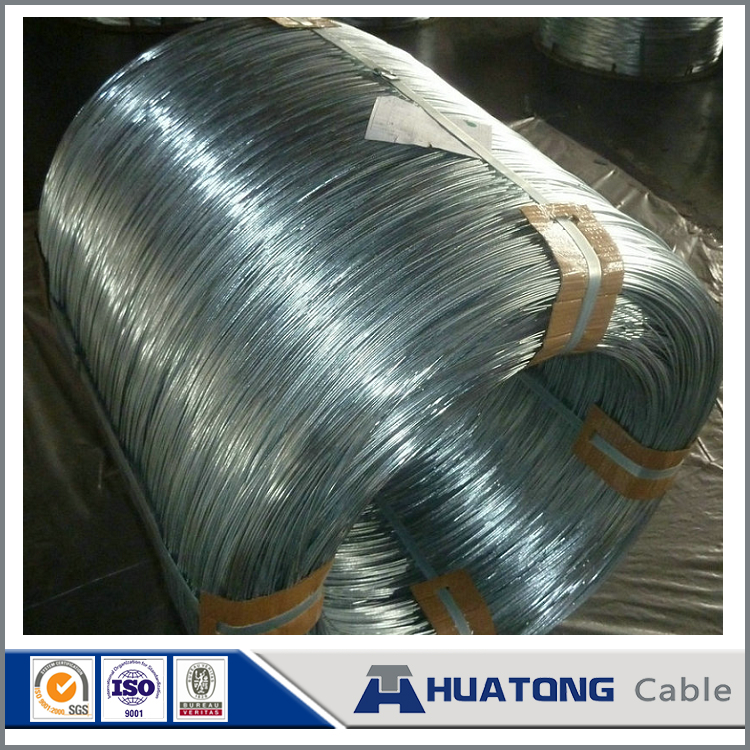Zinc-5% aluminium mixed mischmetal alloy coated aluminum clas steel wire steel wires