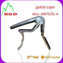 Popular Style metal Guitar Capo/guiar accessories ALICE guitar capo