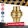 High quality hot sell brass fire hose coupling set with good price
