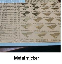 Custom gold sliver foil stamp emboss Red wine label for bottle