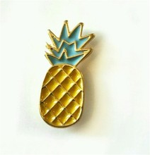 18mm Mini Pineapple Enamel Pin Badge