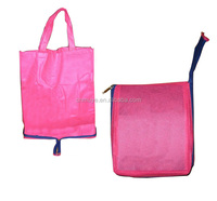 Promotional cheap non woven folding bag