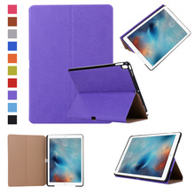 Hot New Product Folding Stand Leather Tablet Cover Case for Apple iPad Pro, For iPad Pro 10.5 inch case