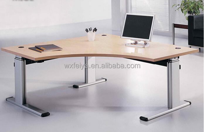 Certified electric table leg smart height adjustable desk for Motorized standing desk legs