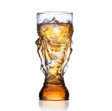 The 2018 Russia FIFA World Cup printed wholesale glass tumblers 2018 football world cup beer glass