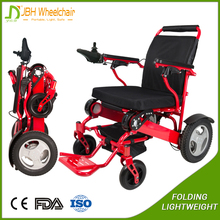 portable travel folding electric wheelchair for disabled and elderly
