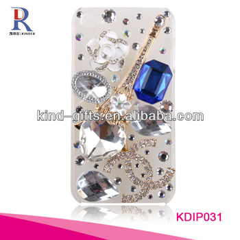 Factory OEM Luxury Bling Diamond Crystal Star Hard Case Cover