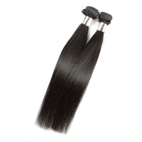 "For sale mix length 20"" 22"" 24"" natural colour straight human hair 100 raw unprocessed virgin indian remy hair"
