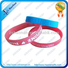 Cheap charity funny silicone wristband
