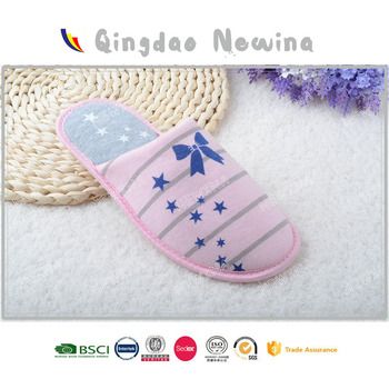 pink girl latest designs ladies slipper Shandong