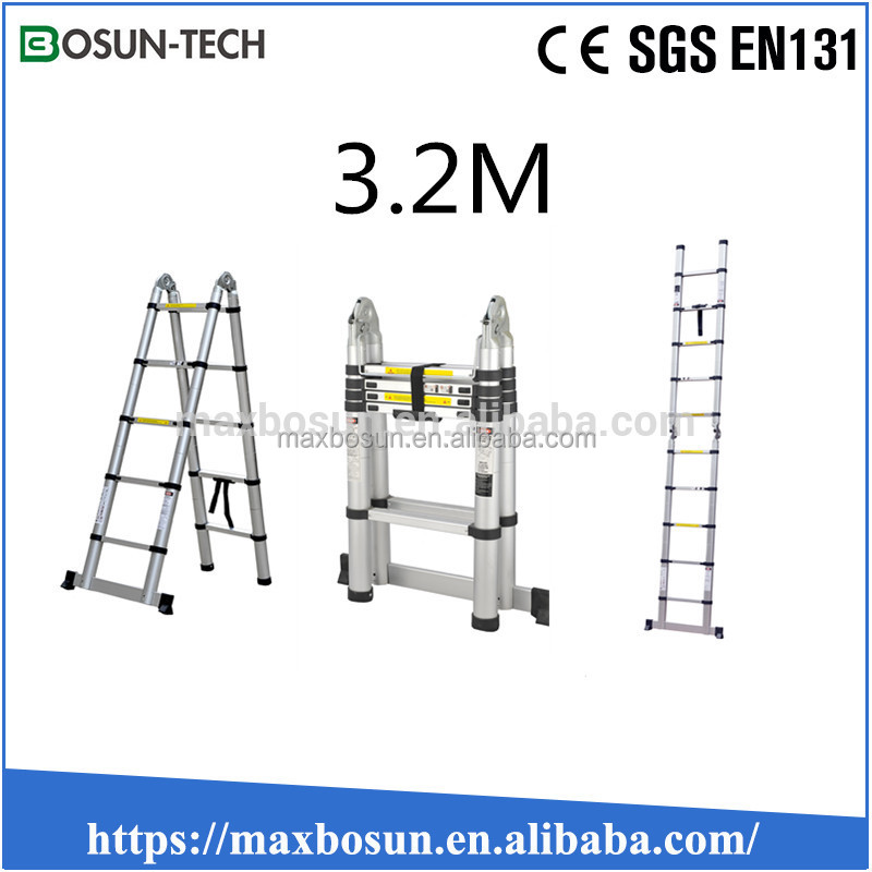 Good price of two side telescopic ladder