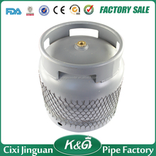 Made in China Ghana item 6kgs gas cylinder, 6kg LPG cylinders, gas tank/ gas bottle