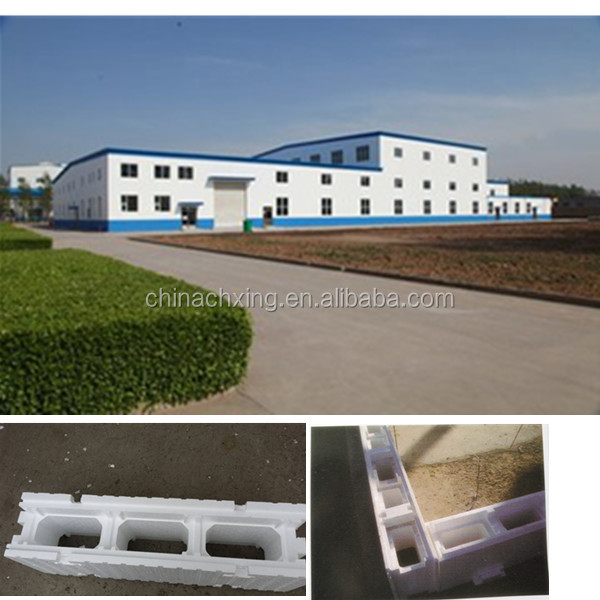 hot sales eps polystyrene foam ICF block for construction