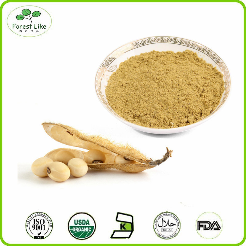 High Quality Soybean Extract Soy Isoflavone Powder