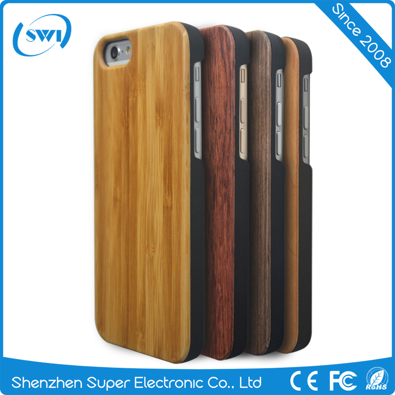 Wholesale China 4.7 inches Phone Accessories Wood PC Mobile Cover for iPhone 6 Case in Sale