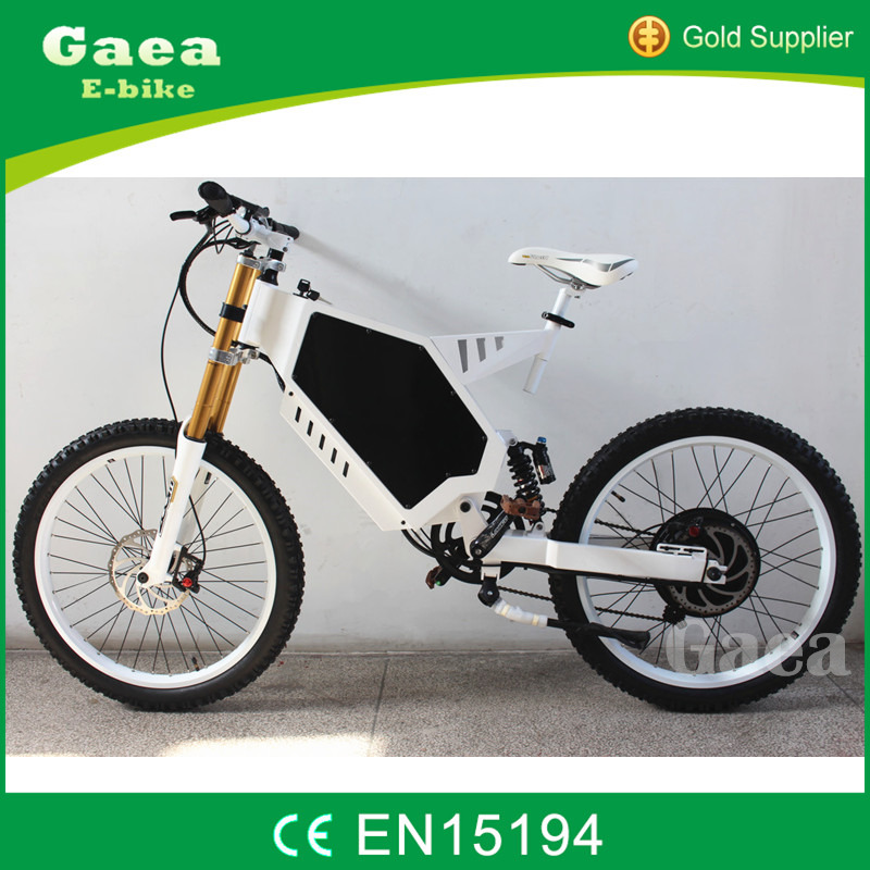Gaea suspension fat bike frame brushless electric motor 48v 3000w china made bicycles