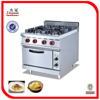 Commercial Gas Ranges 4-Burner& Electric Oven