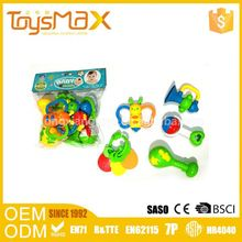 Best Selling Items Cartoon Abs Cheap Baby Cartoon Hand Rattles Toy