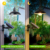 solar outdoor lamp Outdoor Hanging Solar Powered Pendant Lamp with Remote Control for Garden Yard Patio Balcony Home Landscape