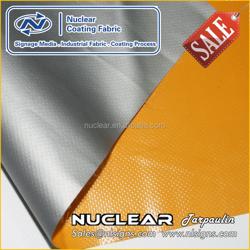 10 oz Vinyl Coated Polyester fabric with excellent tear, puncture, abrasion resistance