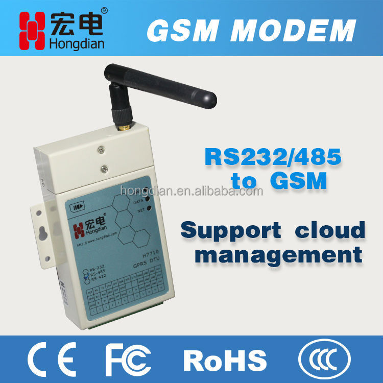 Hot Sale H7710 GPRS GSM Wireless Data Transmitter with Lower Consumption