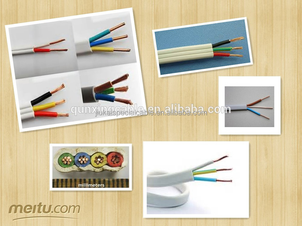 PVC insulated TPS Flat tps cable twin solid single core cheap electrical cable wire copper