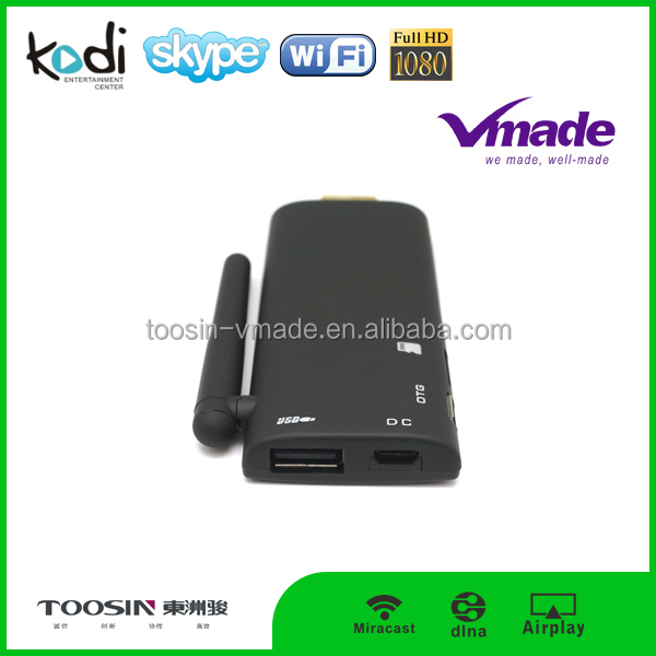 Android Smart TV Dongle Support DLNA Network Media sharing and download,Wireless-N TV Dongle 150Mbps transmission
