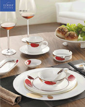 46% high bone china french dinner sets porcelain home beautiful dinnerware for sale