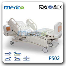 Medco P502 FDA/CE/ISO Approved used in ICU Room Electruc Five Functions Full Size Hospital Bed