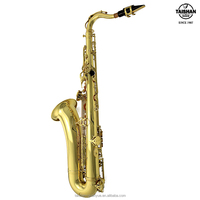 China Professional Gold lacquer sax Tenor Saxophone