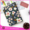 Beautiful Flower Pattern Faux Leather Passport Holder Cover Travel Wallet Organizer