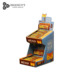 Small Template PDQ candy paper cardboard corrugated display stand racks