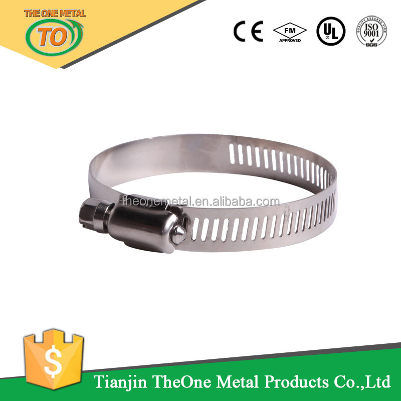 Hot Sale Fastener /American Hose Clamps/ Pipe Clamps For Exhaust Water Pipe