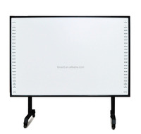 Hot sales 82inch IWB Finger touch digital portable Infrared interactive whiteboard for education
