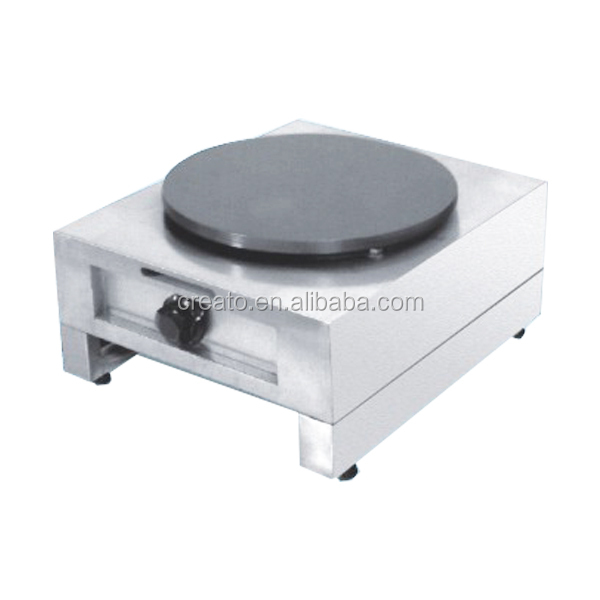 Hot Sale Industrial Single Plate Gas Crepe Maker