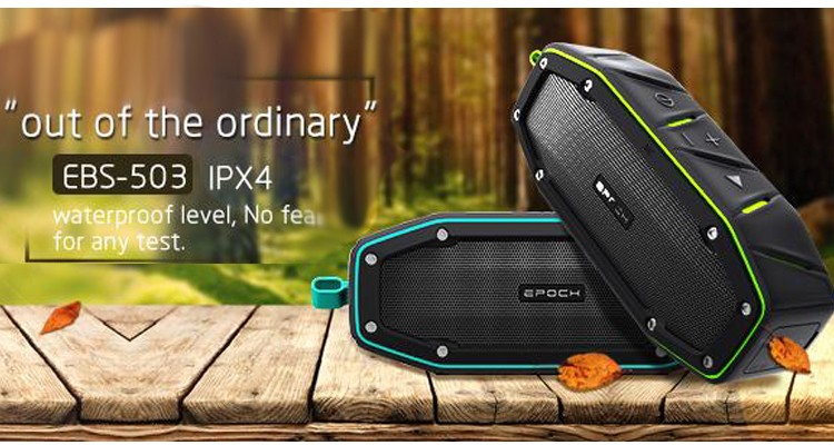 TWS Paire 2 pcs Tissu 10 W IPX6 étanche portable sans fil bluetooth haut-parleur