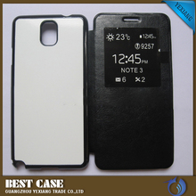 2016 new arrival leather case 3D sublimation phone case flip case for lg l bello