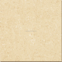 Porcelain polished floor tiles small hole travertine series tiles