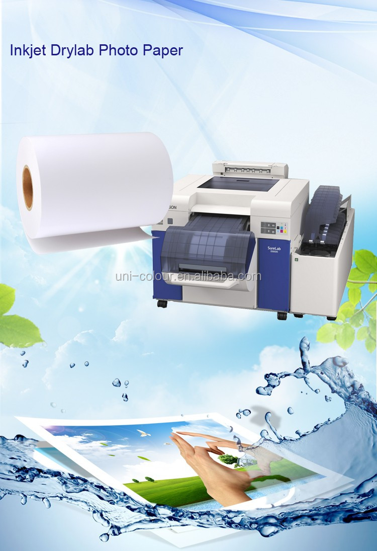 RC Roll Minilab Photo Paper for Epson D3000