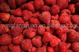 wholesale Hot sale 15-25 25-35mm frozen IQF fresh strawberry