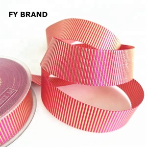 "1/8"" 1/4"" 3/8"" to 1"" 2"" 3"" high quality polyester Grosgrain Ribbon"