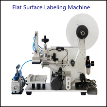Pneumatic Semi Automatic Plastic Bag Labeling Machine