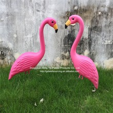 Ornaments Type Plastic flamingos home and garden decoration Flamingo for yard lawn Bird animal art decoration